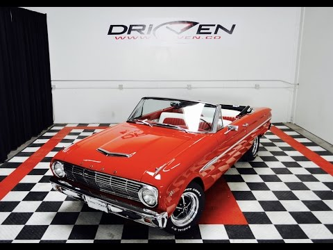 1963 Ford Falcon Futura Convertible V8 4 Speed on offer in So Cal