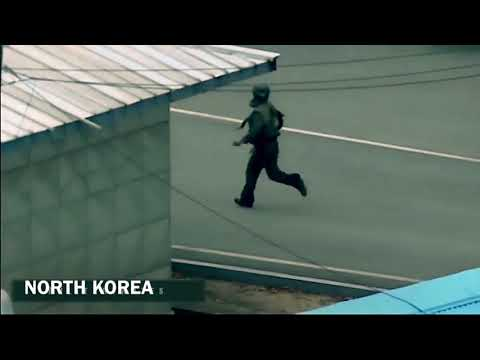 North Korean Soldier Defect Through The JSA ( Joint Security Area )