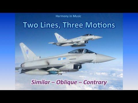 Similar, Contrary, and Oblique Melodic Motion - Harmony I, 06