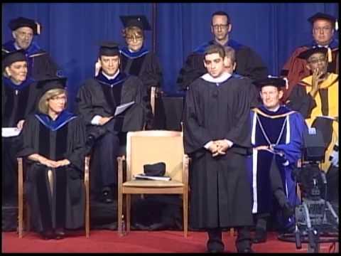 Sam Vaghar - 2013 Lynn University Commencement Speaker