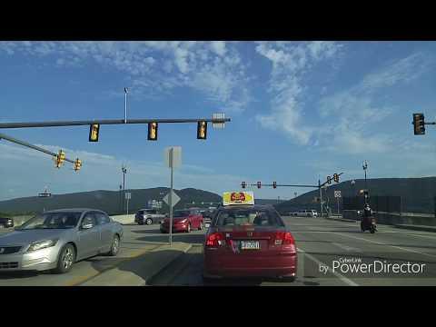 Driving from Williamsport to Muncy,Pennsylvania