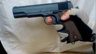 WA コルト M1911 ロイヤルブルー