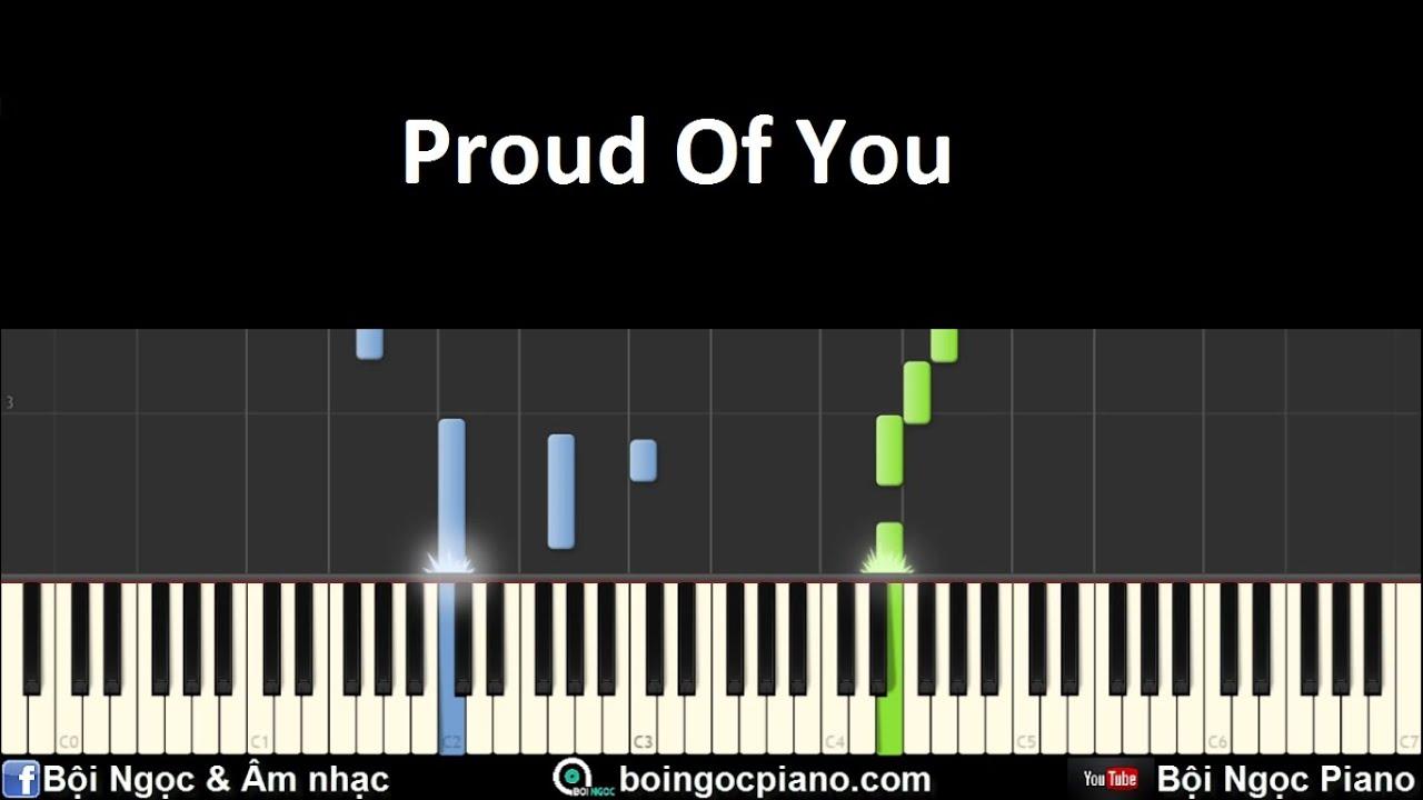 Proud Of You - Fiona Fung | Piano Tutorial #46 | Bội Ngọc Piano