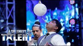 මේ වගේ සමබරවෙන්න පුලුවන්ද ? Sri Lanka's Got Talent Thumbnail
