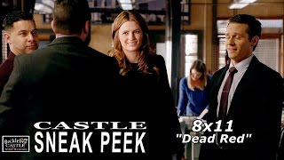 "Castle 8x11 Sneak Peek  - Castle Season  8 Episode 11 Sneak Peek ""Dead Red"""