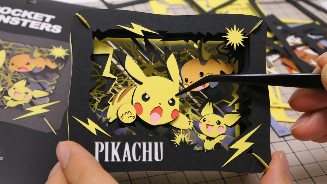 Pokemon Pikachu DIY Paper Craft