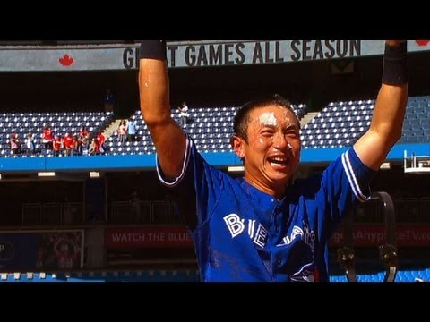 Munenori Kawasaki delivers HILARIOUS stand-up routine after walk-off win