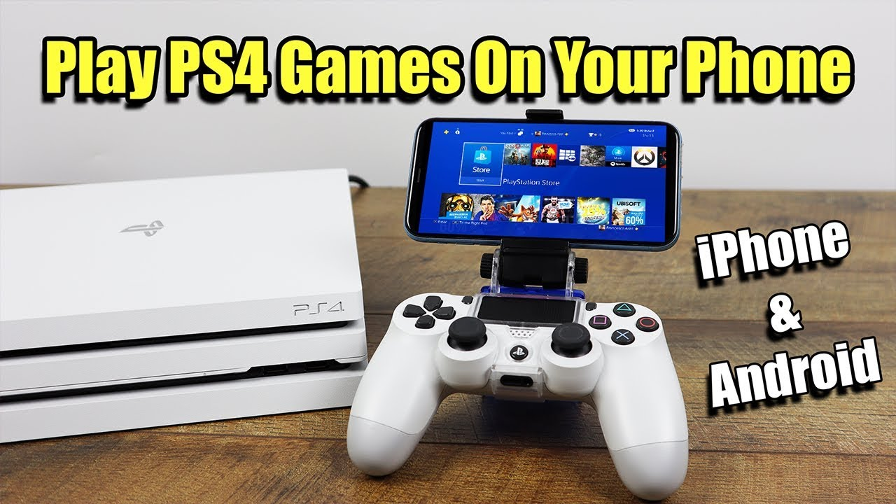 How To Play PS4 Games On Your Phone - iPhone Or Android