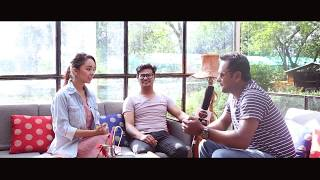 NEPALI   POP STAR  interview with kamal khatri & simpal kharel