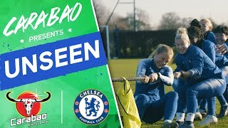 Tug Of War, Free-Kick Masterclass, Chelsea Stars Surprise Youngsters | Chelsea Unseen