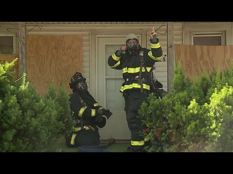 lorain-firefighters-highlight-staffing-shortage-with-fire-demo