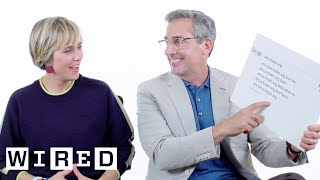 Steve Carell & Kristen Wiig Answer the Web's Most Searched Questions | WIRED by : WIRED
