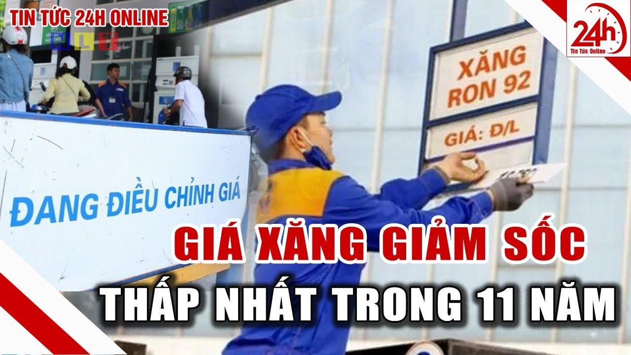 Giá xăng hôm nay giảm sốc | Giá dầu hôm nay | Tin tức Việt nam mới nhất | Tin tức 24h
