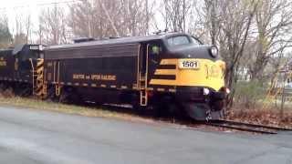 Grafton & Upton railroad F Unit