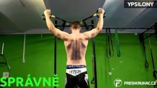FreshKruháč - základní cviky na ramena s TRX