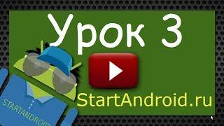 Обучение разработке на Android. Урок 3. Создание AVD. Первое приложение. Структура Android-проекта.