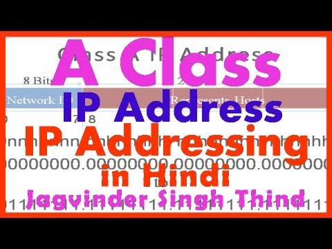 Class A IP Address - IP Address Part 5