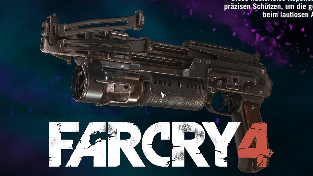 far cry 4 how to get crossbow