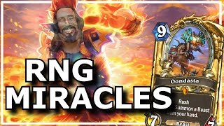 Hearthstone - Best of RNG Miracles