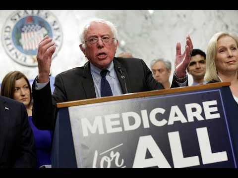 Bernie Sanders introduces single-payer healthcare bill