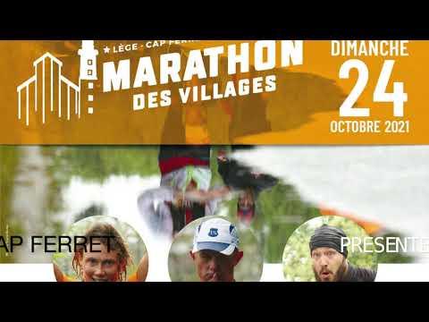 Carte dynamique du Marathon des Villages Presqu'île du Cap Ferret - Le parcours #2