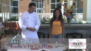 Kiana's Fit Cooking Show / Sesame Ahi / Watermelon Salad / Kiana's Fit Cooking Show