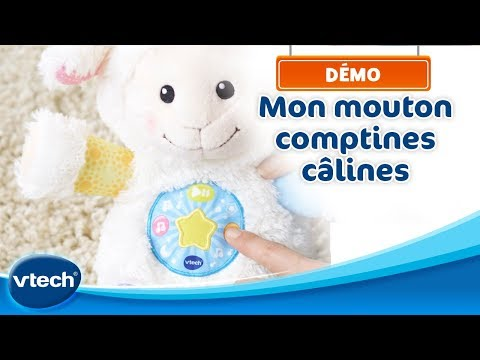 Mon mouton comptines câlines - Une jolie peluche interactive | VTech