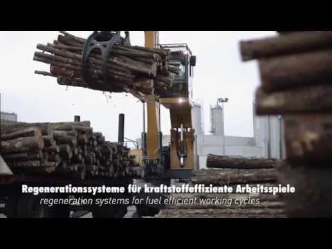Liebherr - The new LH Material Handlers for Timber Handling