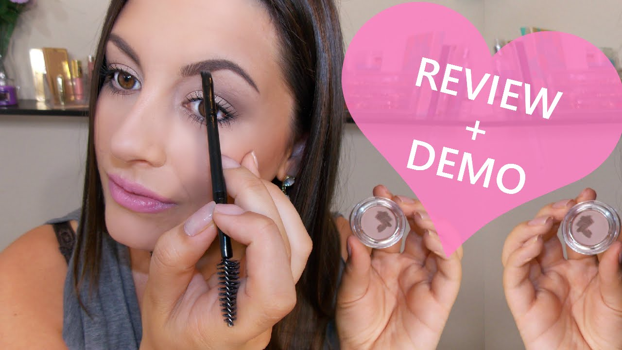 Salon Perfect Brow Pomadereview Demo Youtube Kleancolor Pomade