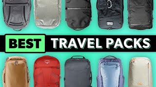 Top 10 Best Trąvel Backpacks for One Bag Carry-on Travel