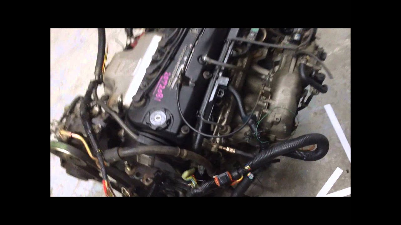 maxresdefault 1998 2002 jdm honda accord swap f23a vtec engine at transmission and