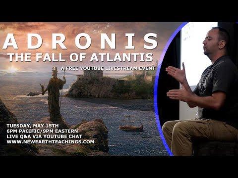 Adronis: The Fall of Atlantis Free Livestream Presentation