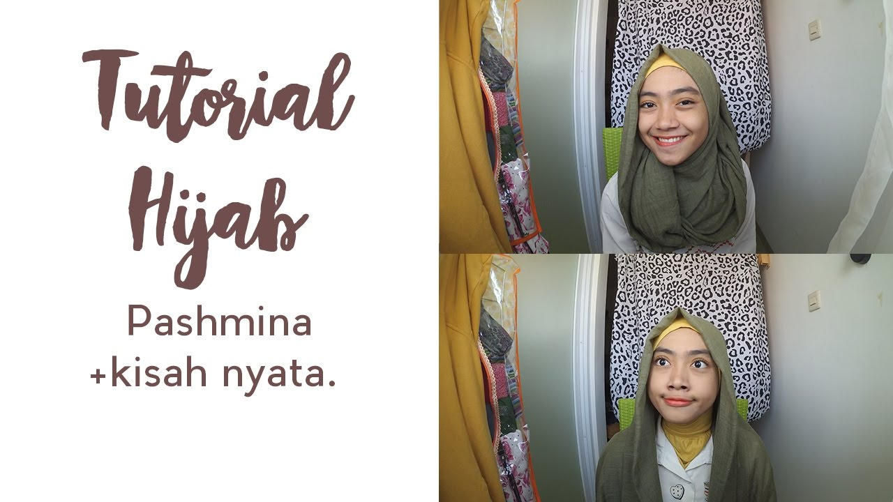 Tutorial Hijab Pashmina Simpel I Simple Hijab Tutorial Bahasa 3
