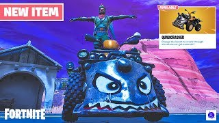 Fortnite New Quadcrasher (Battle Royale - Playground) Gameplay | patch v6.10