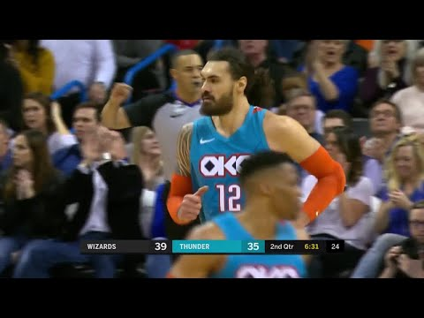 2nd Quarter, One Box Video: Oklahoma City Thunder vs. Washington Wizards