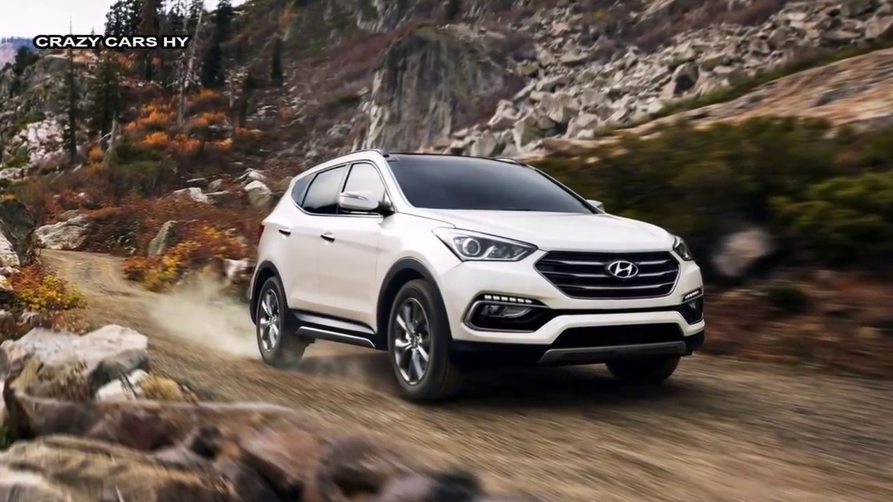 2017 Hyundai Grand Santa Fe Interior Exterior And Drive Youtube