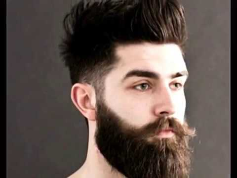New Hairstyles For Man With Beard Best Newest Hairstyle For Man