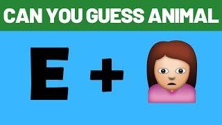 Guess The Animal By Emoji | Emoji Challenge | Emoji Puzzle