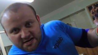 Александр КУРАК подготовка к 1-му этапу VPLab (верхний жим 140-150 кг) спокойно тащит