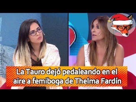 📺  Marcela Tauro dejó pedaleando en el aire a Femiboga de Thelma Fardín || SE CAE LA TRAMA SECRETA