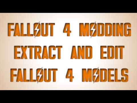 Extracting and Editing Fallout 4 Models [Walkthrough] - YouTube