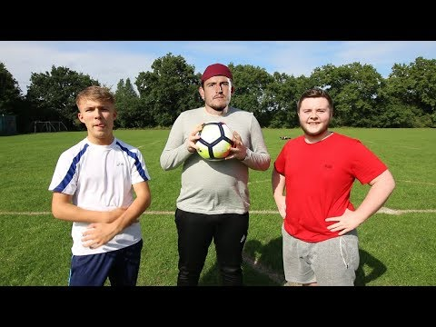 THE HARRY MAGUIRE FOOTBALL CHALLENGE!