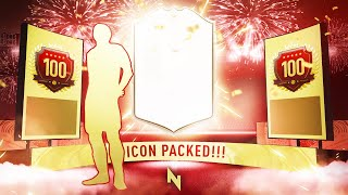 ICON PACK + FUT CHAMPS REWARDS! - FIFA 20 Ultimate Team