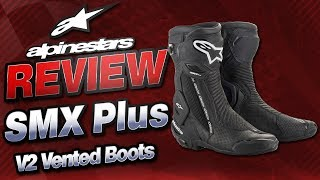 Alpinestars SMX Plus V2 Vented Boot Review | Sportbike Track Gear