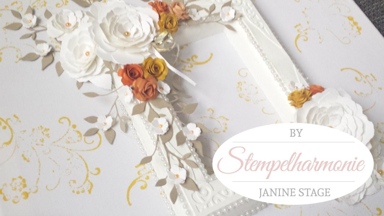 Dekoration Bilderrahmen gestalten | Hochzeit | Podukte von Stampin ...