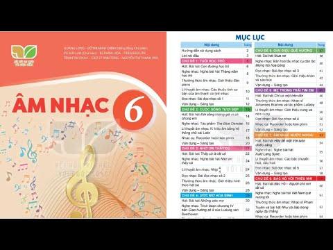 Tổng hợp sách âm nhạc lớp 6 Kết nối tri thức | Những bài nhạc hay trên internet 1