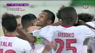 دوري فيفا الكويتي - العربي والكويت - الهدف الثالث للكويت جمعة سعيد