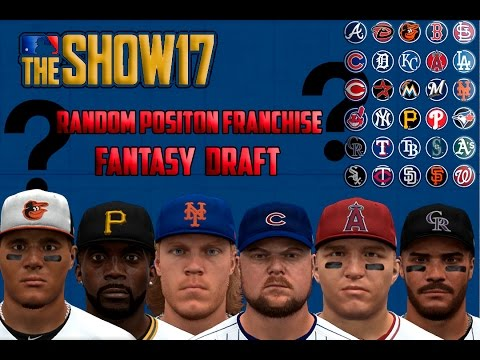 MLB The Show 17 Franchise Ep.1: Random Position Player Fantasy Draft