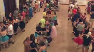 Contra Dancing - Cis Hinkle & Syncopaths - Butterfly Whirl - Prince of Hales I