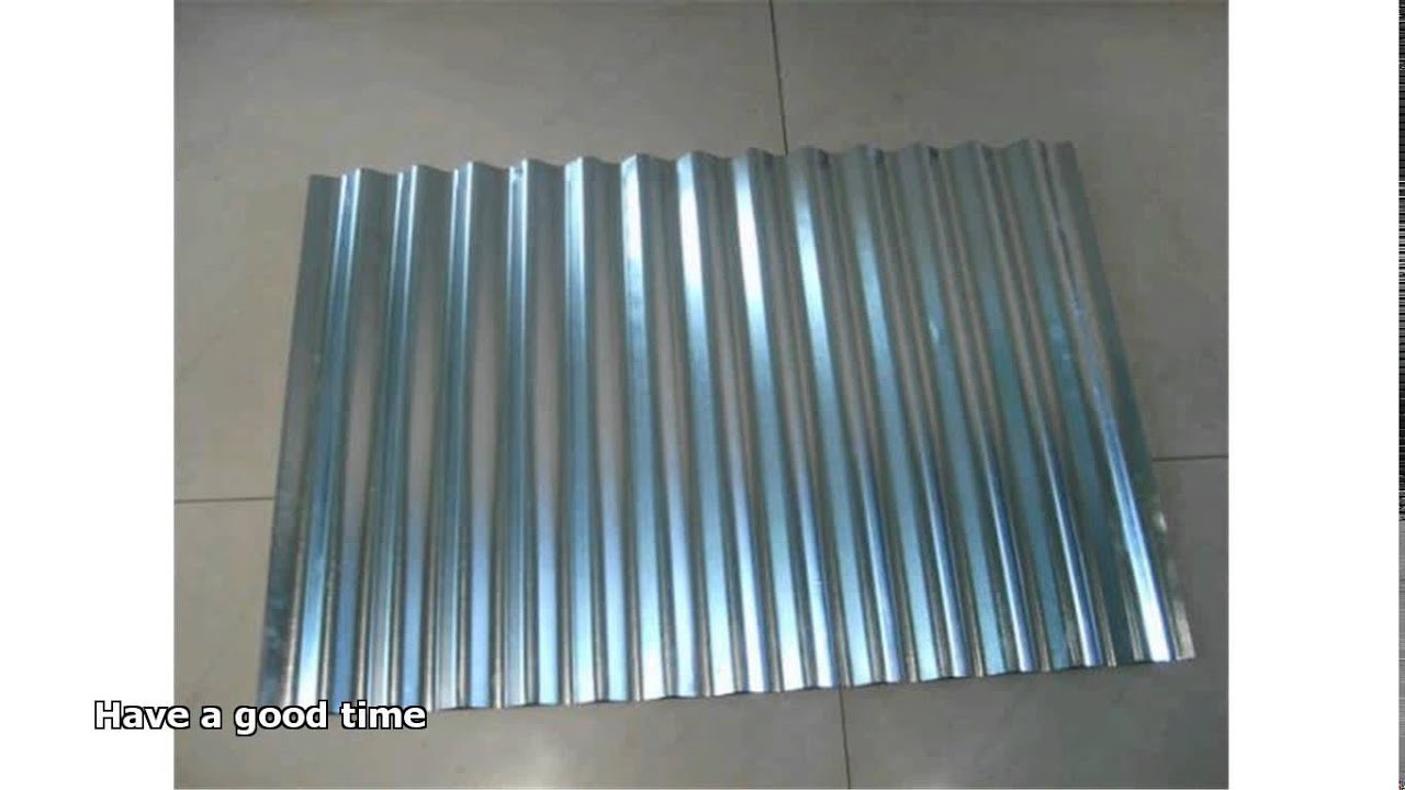 Lowe S Metal Roof Panels : Corrugated steel roofing youtube
